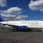 ФОТО: В армянский аэропорт Ширак прилетел обновленный Boeing 737 авиакомпании Taron-Avia