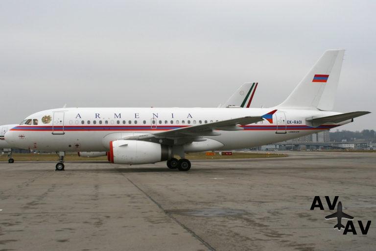 В Армении задумались о покупке нового президентского самолета